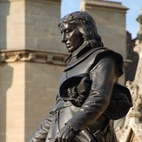 Oliver Cromwell's Statue
