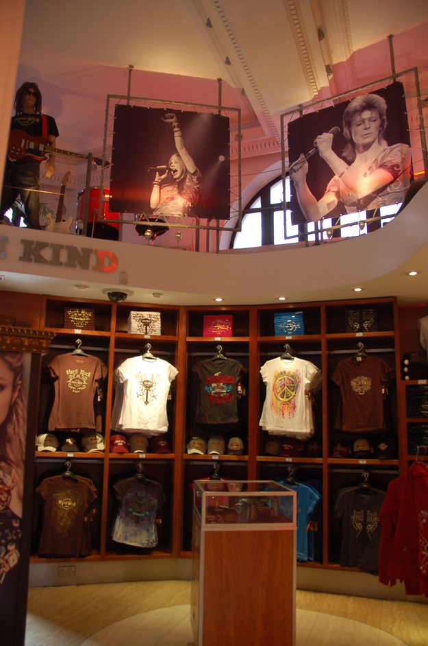 The Hard Rock Cafe - Hard Rock Cafe Store