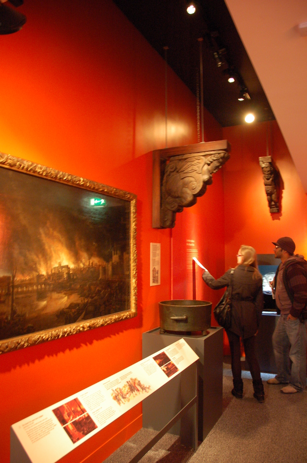 Museum of London - Great Fire Of London Exhibtion