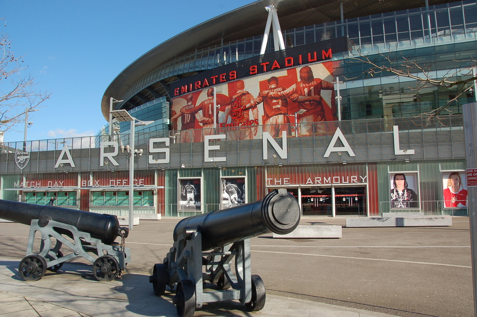 Image result for arsenal stadium