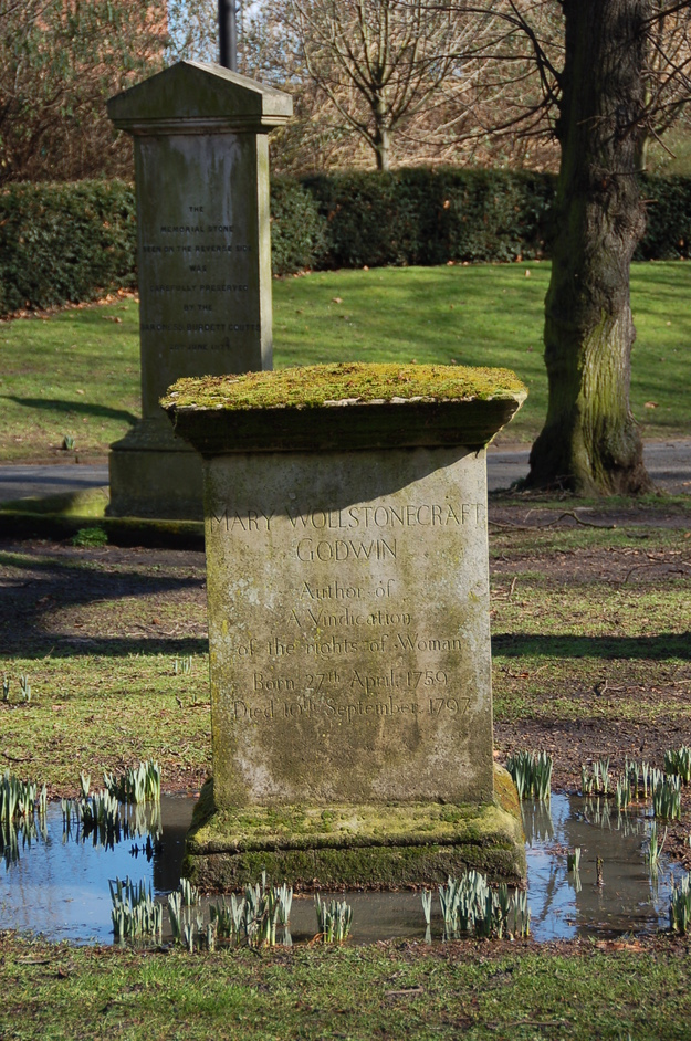 St Pancras Old Church and Gardens - The Grave Of William Goodwin and his wife, Mary Wollstonecraft