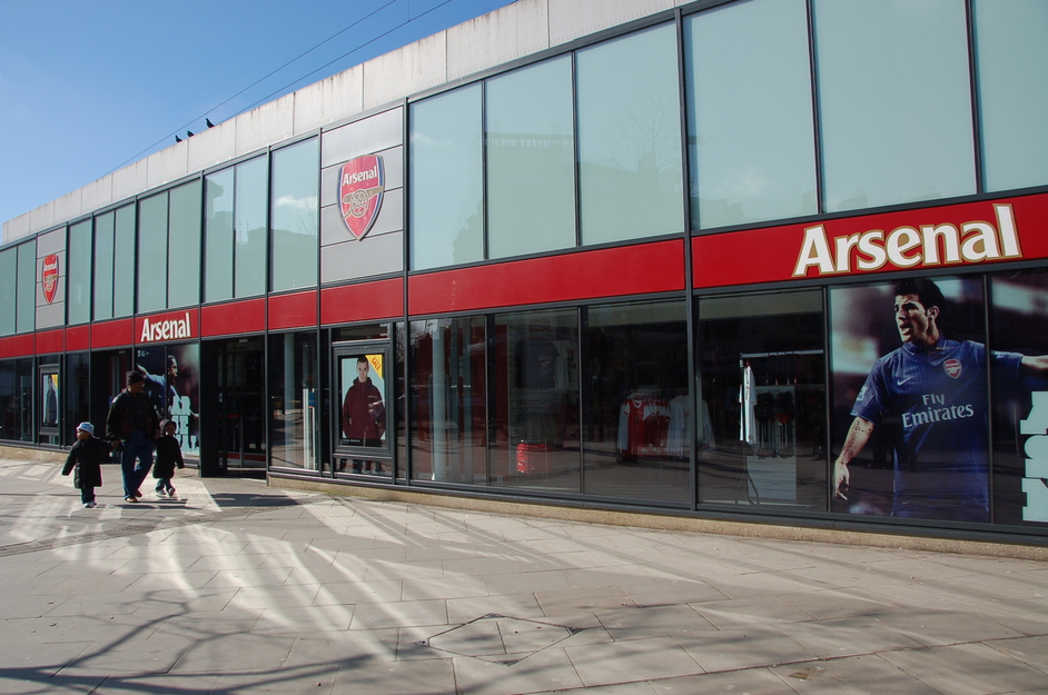 Emirates Stadium: Arsenal FC - Finsbury Park Arsenal Shop
