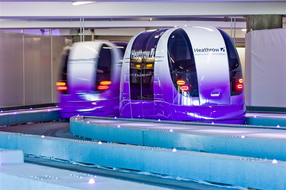 Heathrow Airport - Heathrow's pods