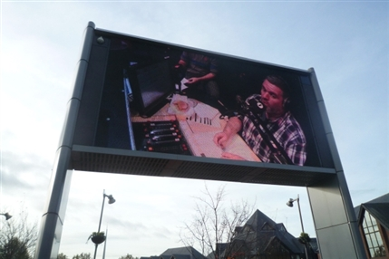 Walthamstow Town Square: Big Screen