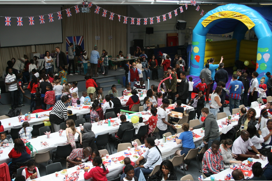 The Big Jubilee Lunch - New Life Christian Centre, Cairo New Road, Croydon