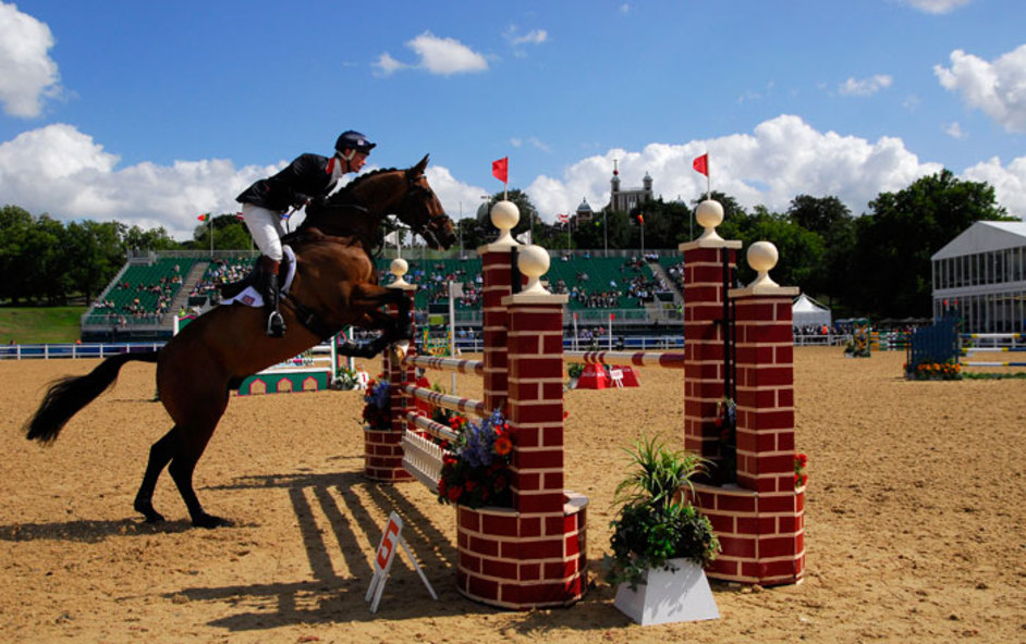 London Olympics: Equestrian Jumping - Image courtesy of London 2012