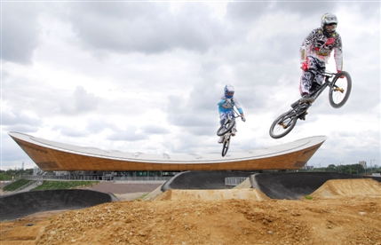 London Olympics: BMX Cycling