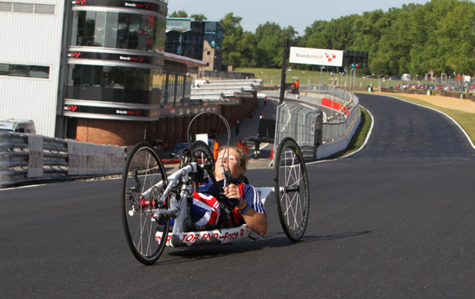 London Paralympics: Brands Hatch - Image courtesy of London 2012