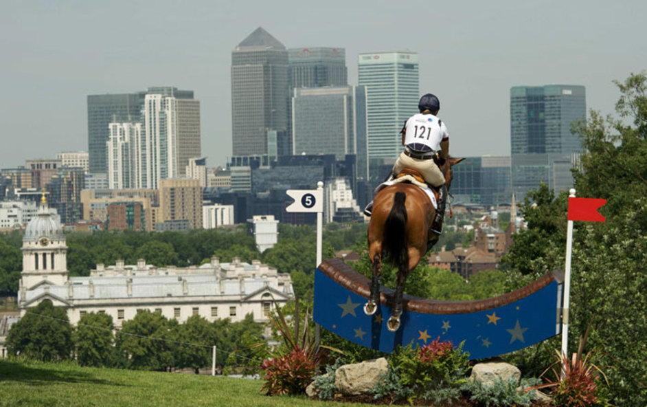 London Olympics: Equestrian Dressage - Image courtesy of London 2012