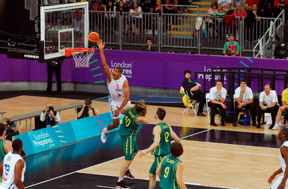 London Olympics: Basketball - Image courtesy of London 2012