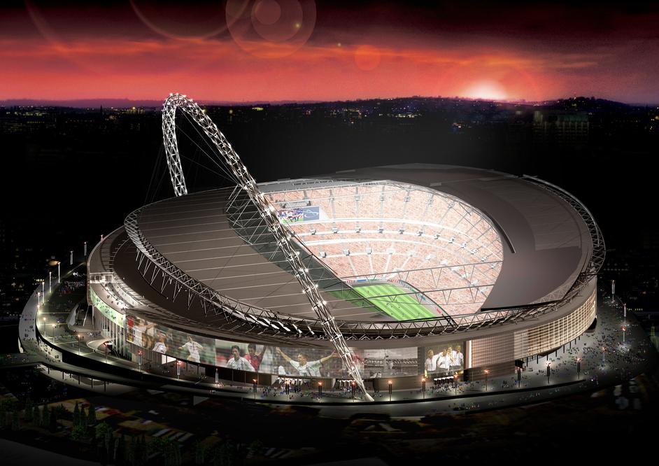 London Olympics: Wembley Stadium - London 2012