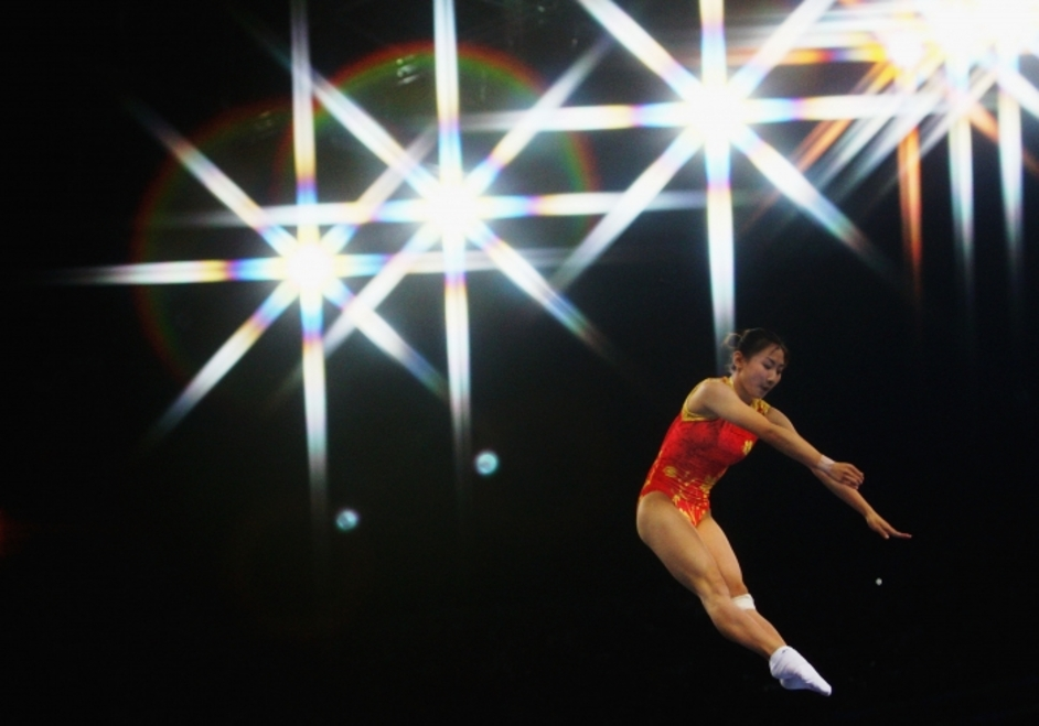 London Olympics: Gymnastics - Trampoline - London 2012