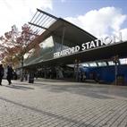 London Olympics: Stratford Station