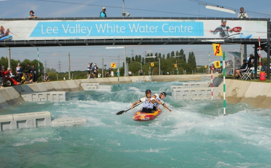 London Olympics: Lee Valley White Water Centre - Image courtesy of London 2012