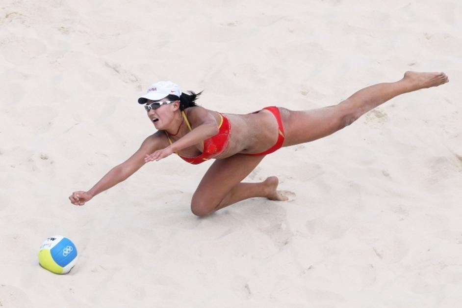 London Olympics: Beach Volleyball - Image courtesy of London 2012