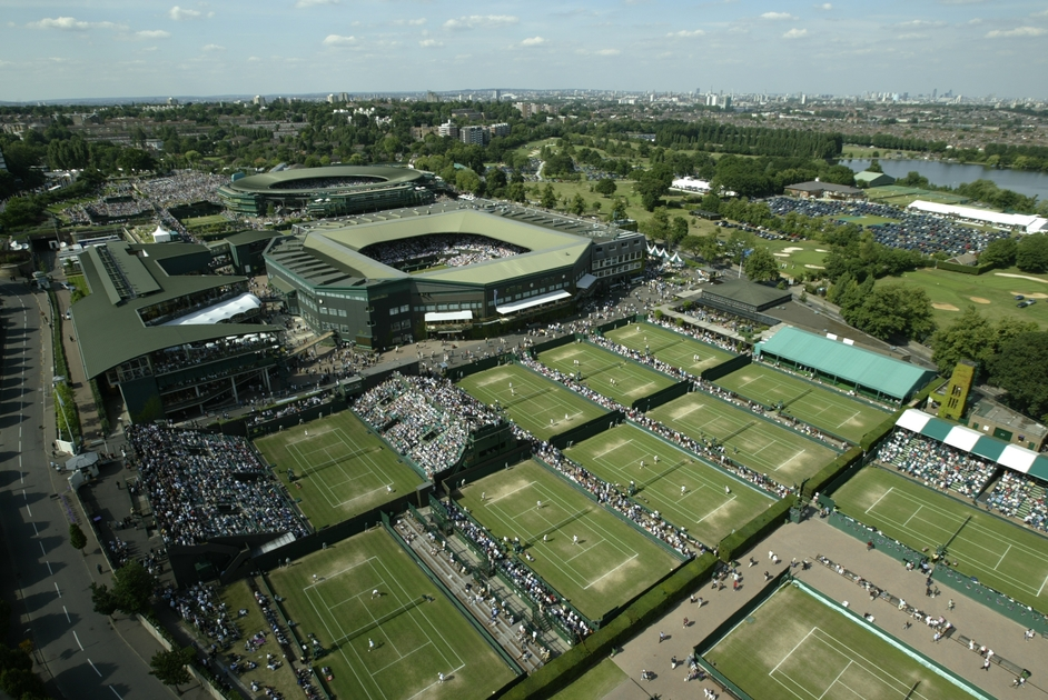 London Olympics: The All-England Lawn Tennis and Croquet Club at Wimbledon - London 2012