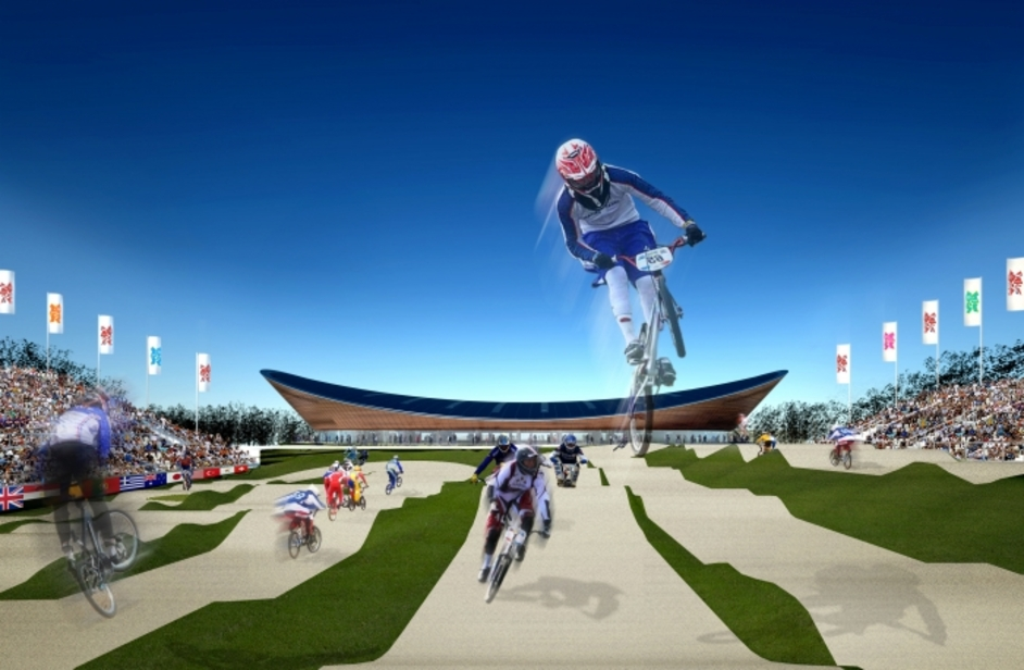 London Olympics: BMX Cycling - Image courtesy of London 2012
