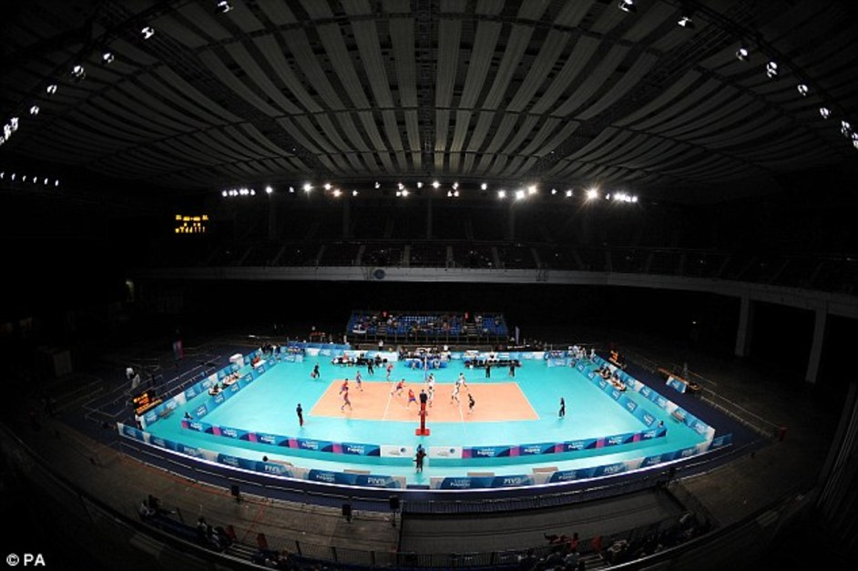 London Olympics: Earls Court Exhibition Centre - PA