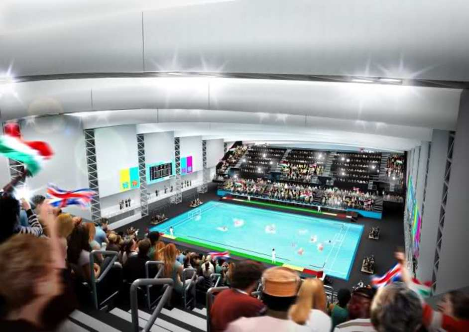London Olympics Water Polo Arena - London 2012