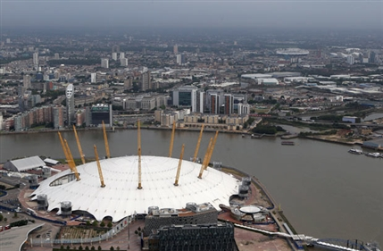 London Olympics: North Greenwich Arena - Getty Images
