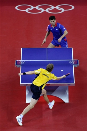 London Olympics: Table Tennis