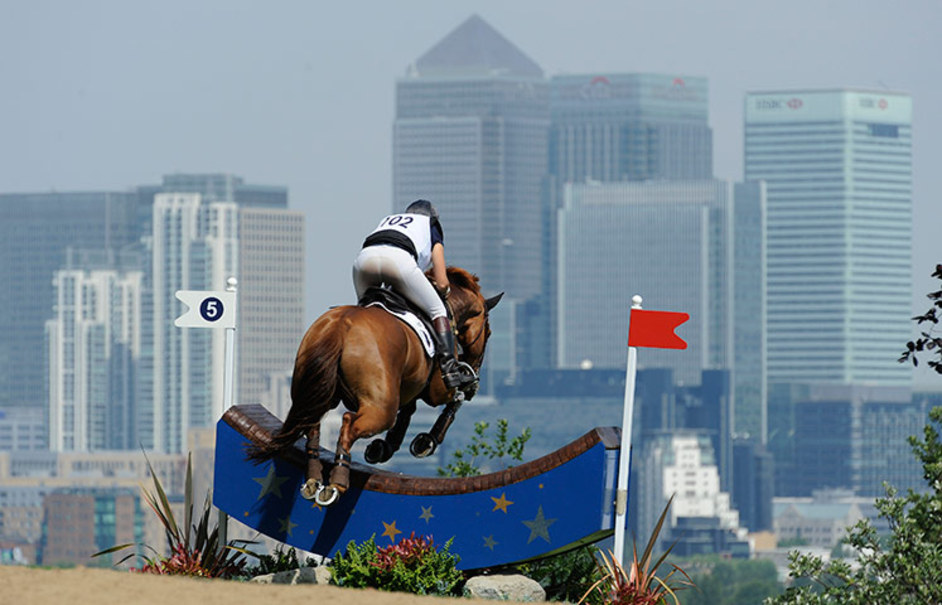 London Olympics: Greenwich Park - Tom Jenkins for the Guardian