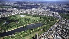 London 2012 Central Zone - View over Hyde Park, which will host several events at London 2012