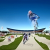 London Olympics BMX Track London