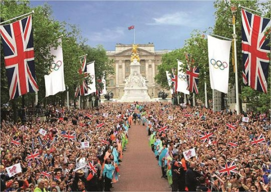 London Olympics: The Mall - London 2012