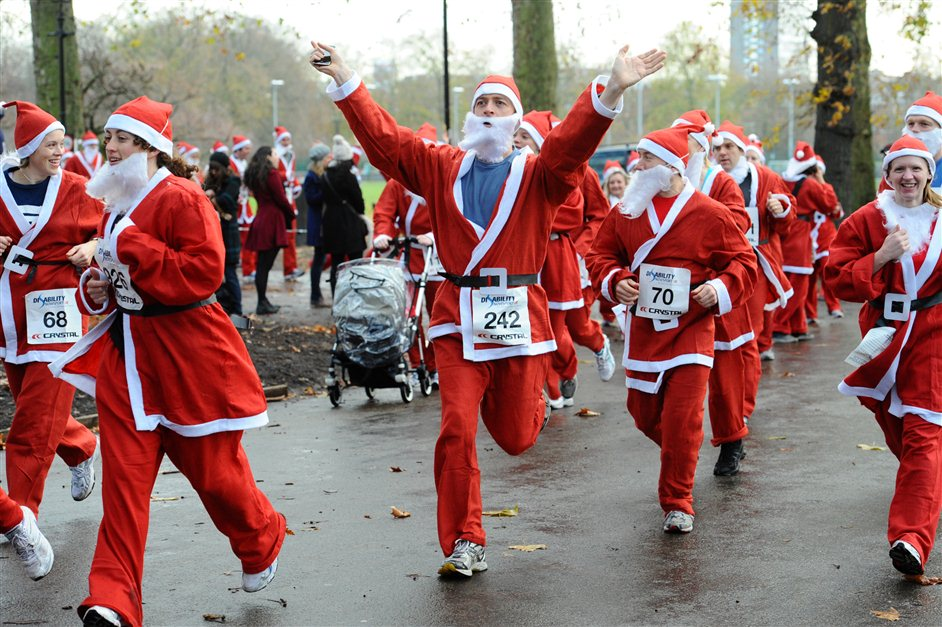 Santa Run Battersea Park