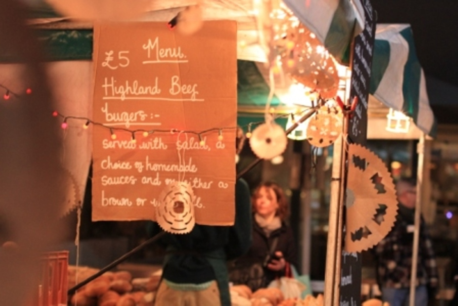 Real Food Christmas Market