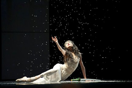 San Francisco Ballet: Three Mixed Bills - Yuan Yuan Tan  in Possokhov's RAkU © Erik Tomasson