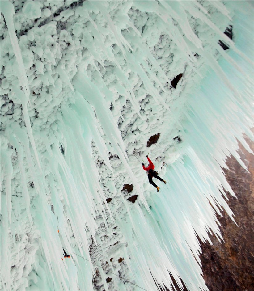 Banff Mountain Film Festival World Tour - From the film Reel Rock- Ice Revolution