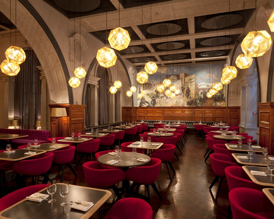The Restaurant at The Royal Academy of Arts - Image courtesy Royal Academy of Arts