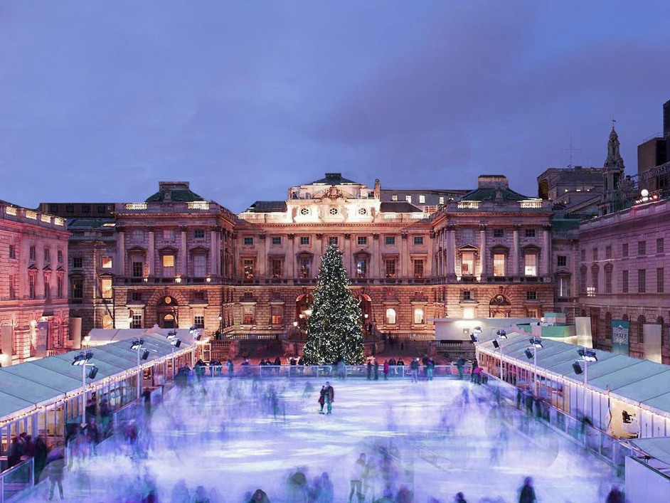 Skate At Somerset House Images Covent Garden London ...