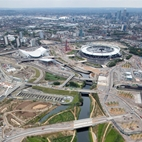 London 2012 Olympic Park hotels title=