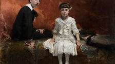 Sargent: Portraits of Artists and Friends - Edouard and Marie-Louise Pailleron by John Singer Sargent, 1881 by Des Moines Art Center, Des Moines, Iowa