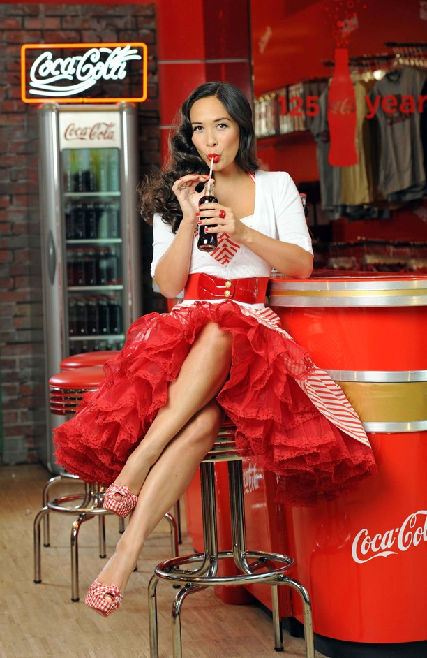 Coca Cola Retro Soda Bar At Selfridges Marylebone London