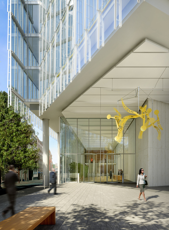 The Shard - The Place entrance, photo courtesy of Sellar Property Group