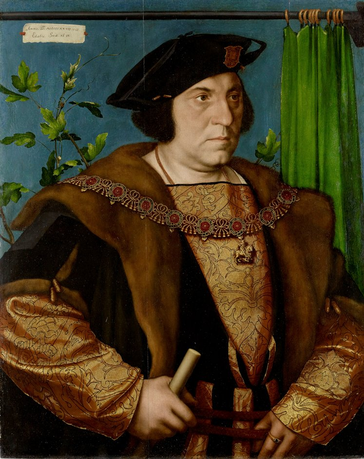 The Northern Renaissance: Durer to Holbein - Sir Henry Guildford, Hans Holbein the Younger, 1527. Royal Collection © Her Majesty Queen Elizabeth