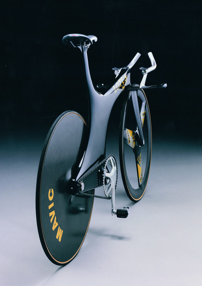 Designed to Win - Lotus type 108 Olympic Pursuit bike, 1992