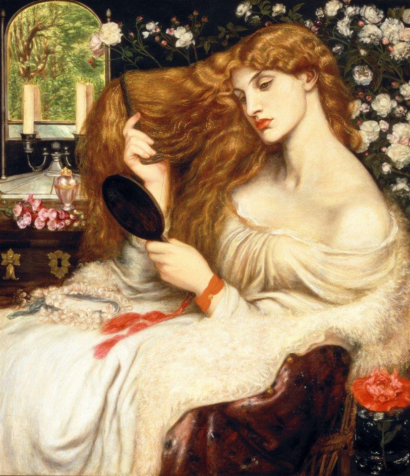 Pre-Raphaelites: Victorian Avant-Garde - Dante Gabriel Rossetti, Lady Lilith 1866-1868