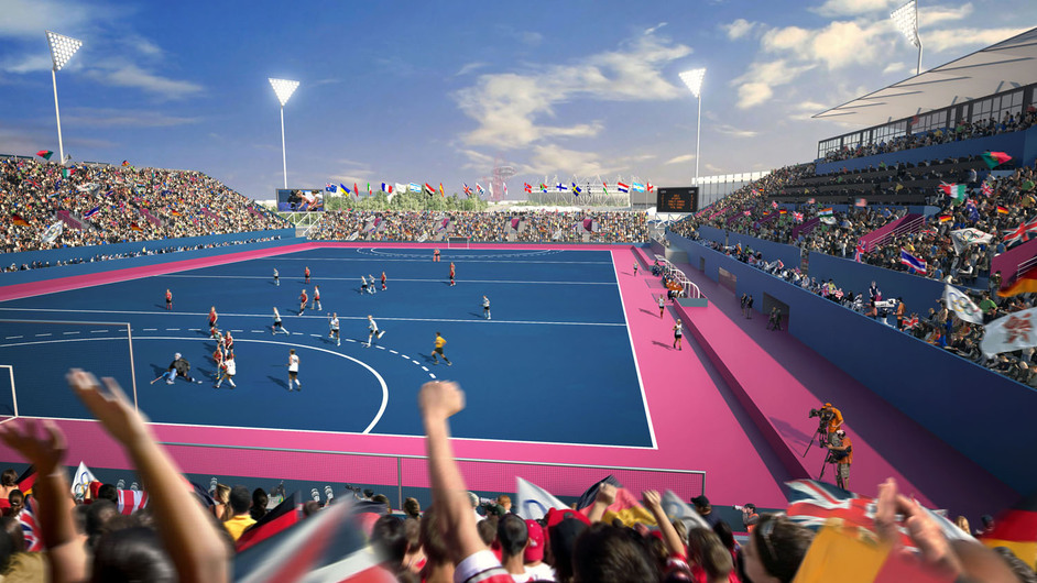 Lee Valley Hockey and Tennis Centre - London 2012