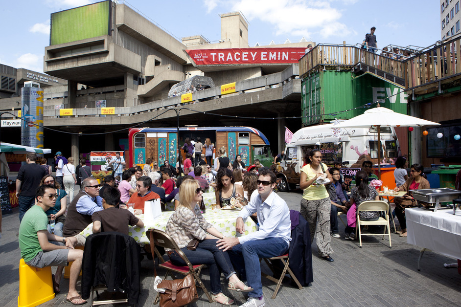 Southbank Centre - Food Market at Southbank Centre, photo credit Belinda Lawley