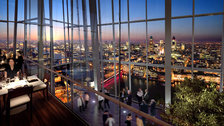 The Shard restaurants include Oblix - Opens 7th May 2013 by Sellar Property Group