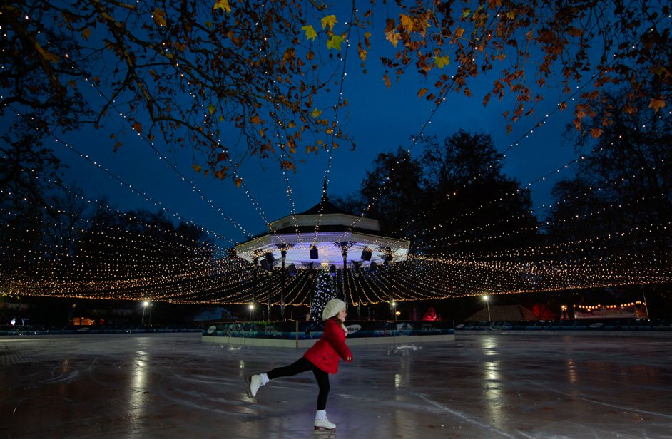 Winter Wonderland Open Air Ice Rink