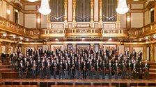 Vienna Philharmonic Orchestra - Vienna Philharmonic in the Musikverein by Richard Schuster