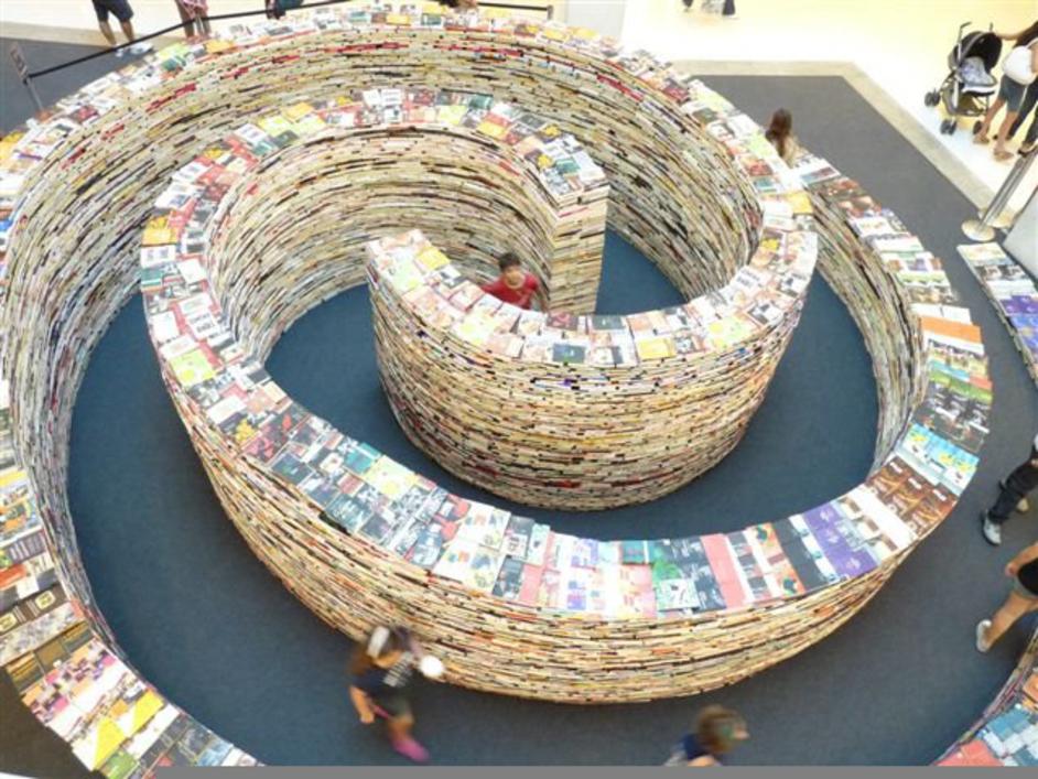 aMAZEme - Image courtesy of Southbank Centre