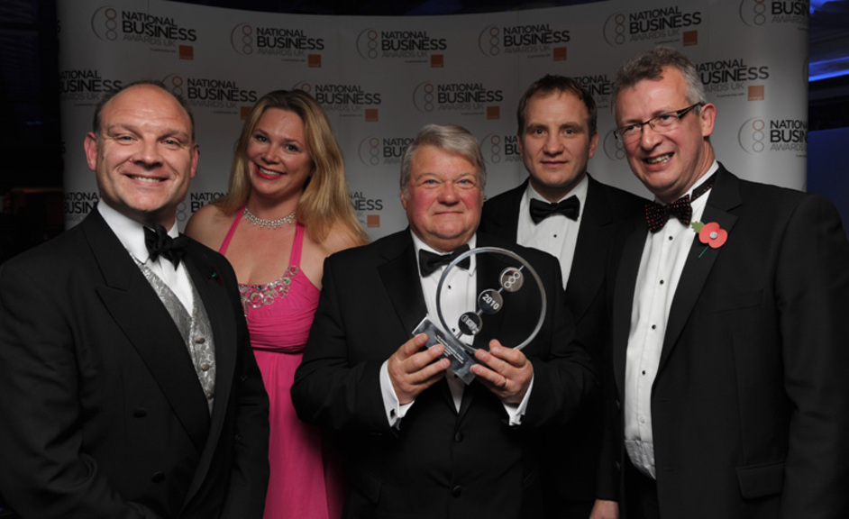 National Business Awards - Copright UBM Information Ltd 2010