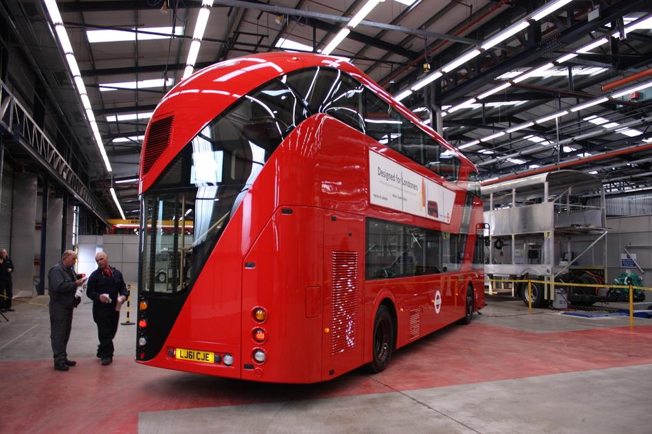 Heatherwick Studio: Designing The Extraordinary - New Bus For London, UK 2011 © Heatherwick Studio